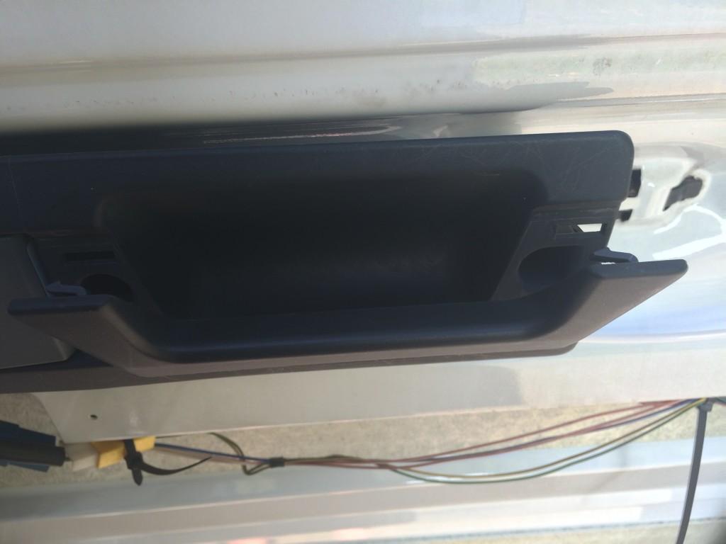 T1N rear door handle removal