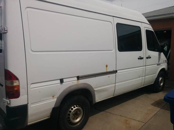 dodge sprinter high roof cargo van for sale on craigslist autos weblog. Black Bedroom Furniture Sets. Home Design Ideas