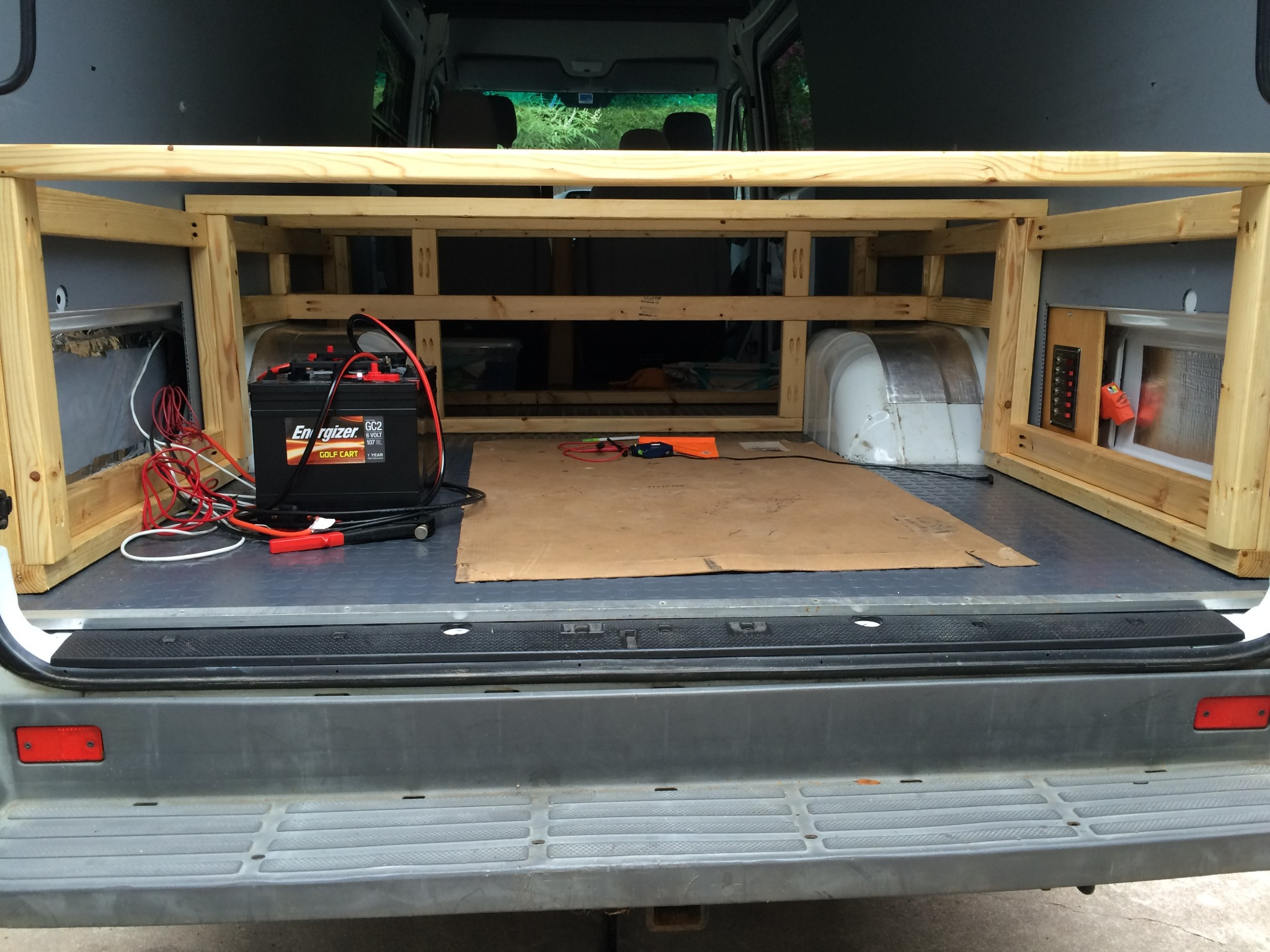 Building A Bed For Camper Van