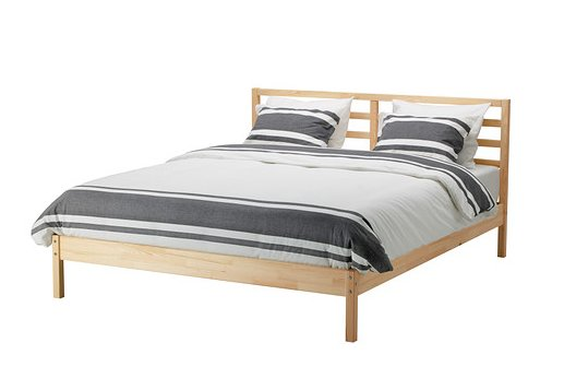 Ikea Tarva Bed frame - before modification