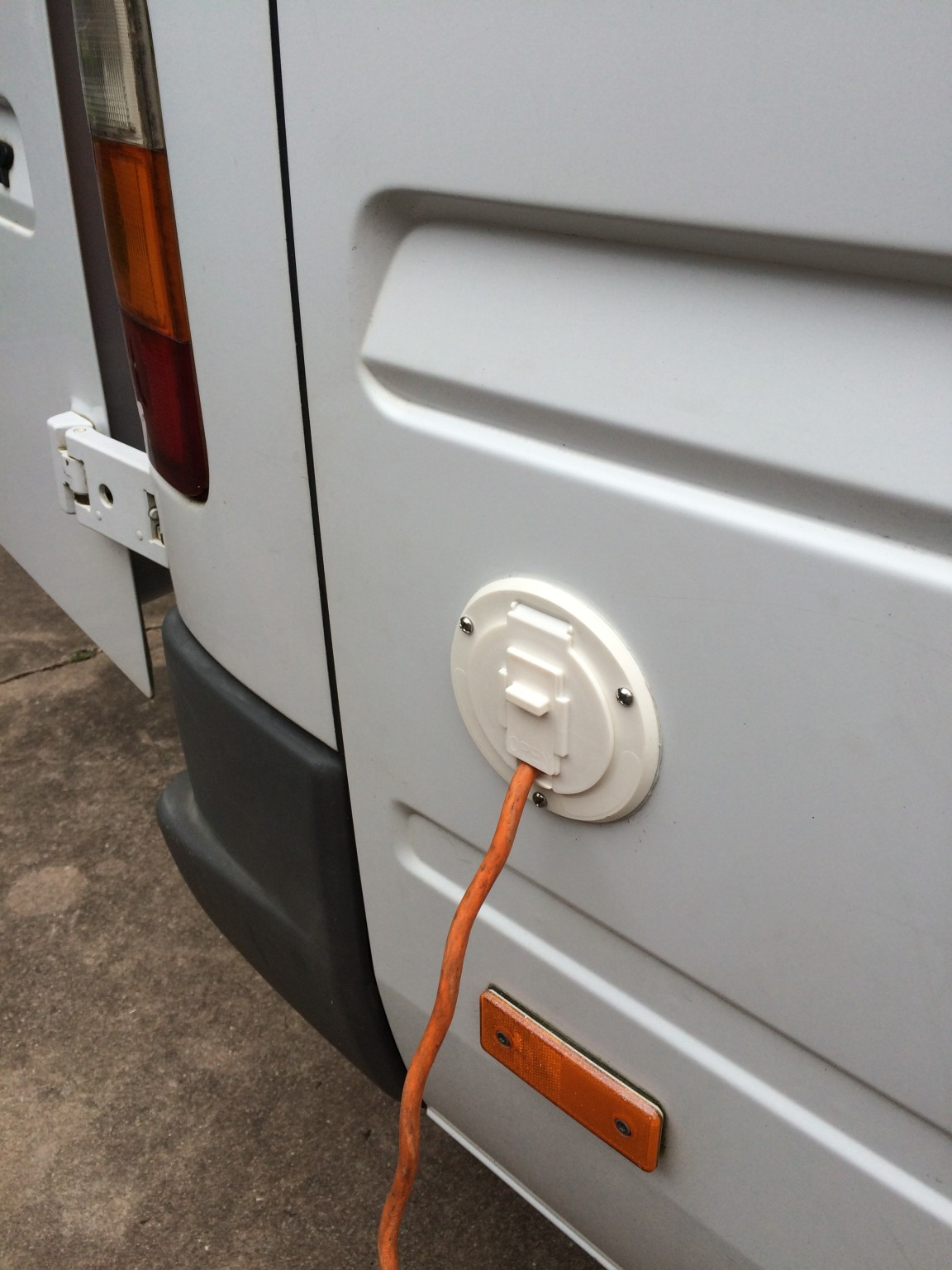 Easy Shore Power Access Sprinter Camper