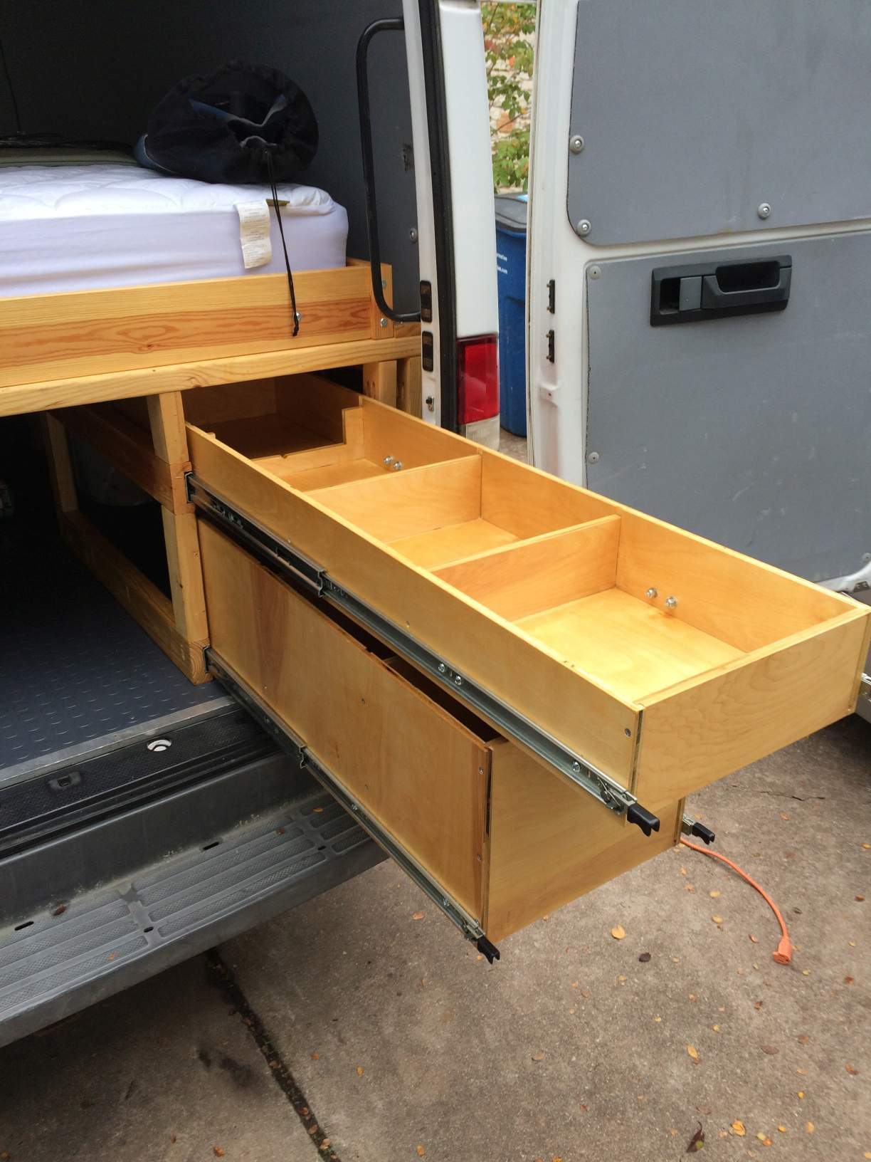 Heavy duty storage drawers