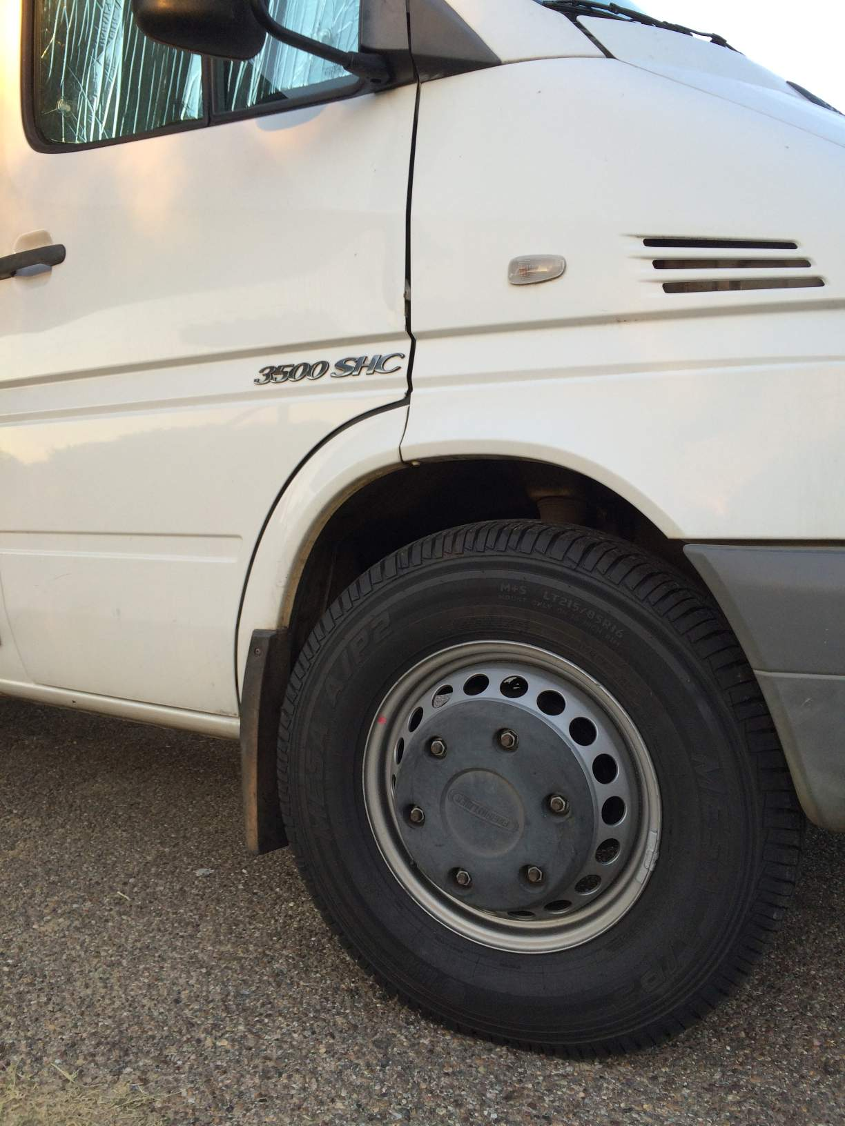 215/85R16 tires Sprinter Van